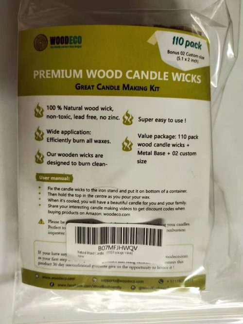 wood candle wicks by ebateck